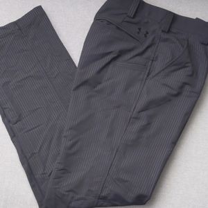 Under Armour pinstriped golf pants